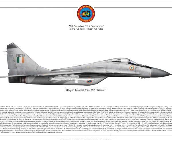 Indian AF, 28th Squadron, MiG-29 #1